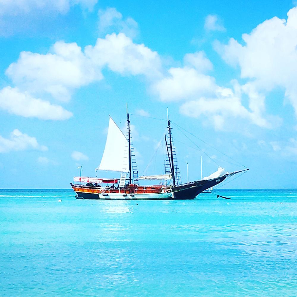 Caraibes en bateau