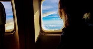 Passager avion long courrier