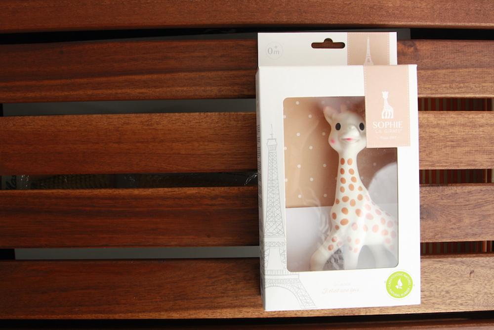 Sophie la girafe toxique