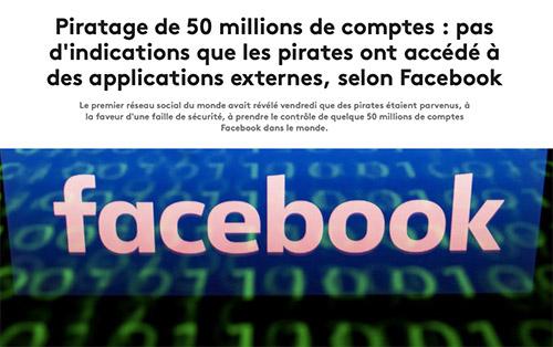 alerte piratage sur Facebook