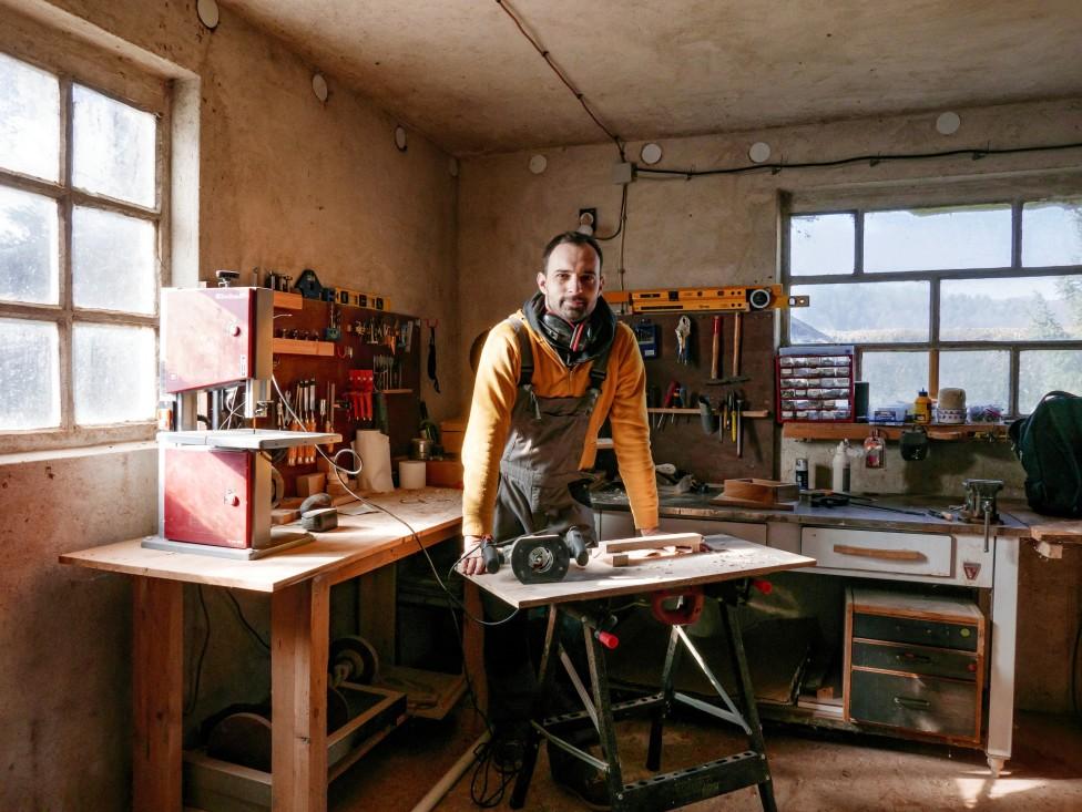 artisan charpentier
