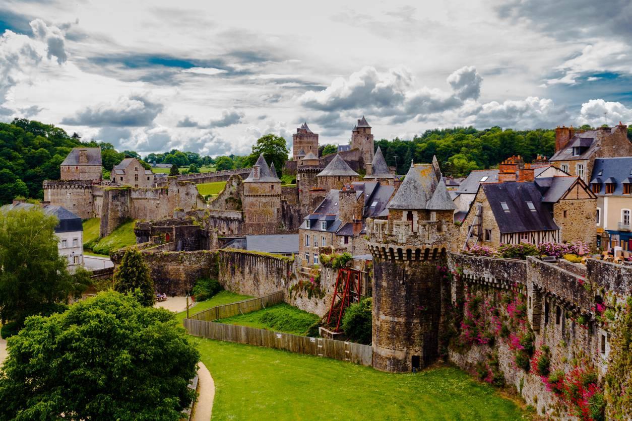 château Côtes d'Armor vacances séjour