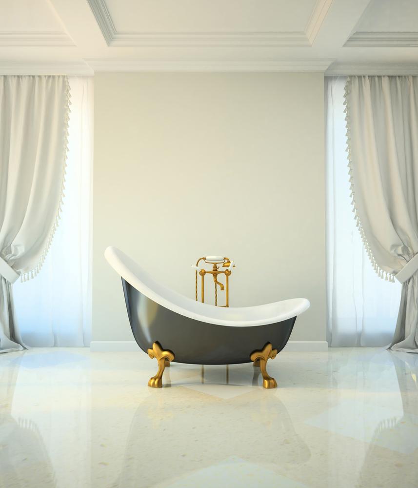 baignoire au style classique