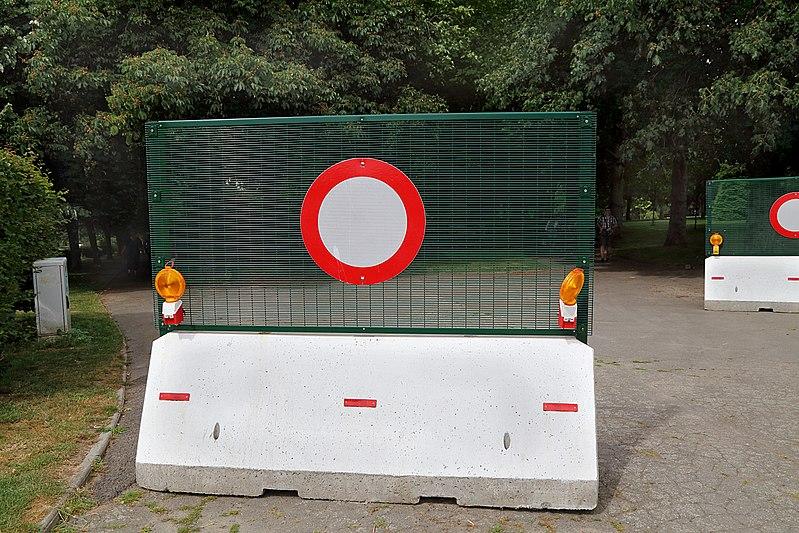 barrière anti intrusion