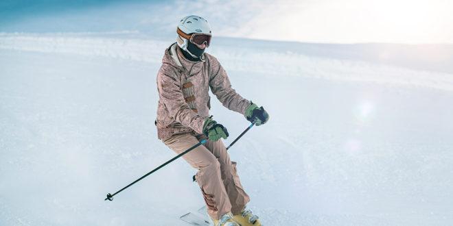 casque au ski