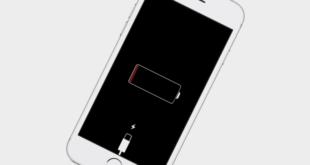 chargement d'un iPhone