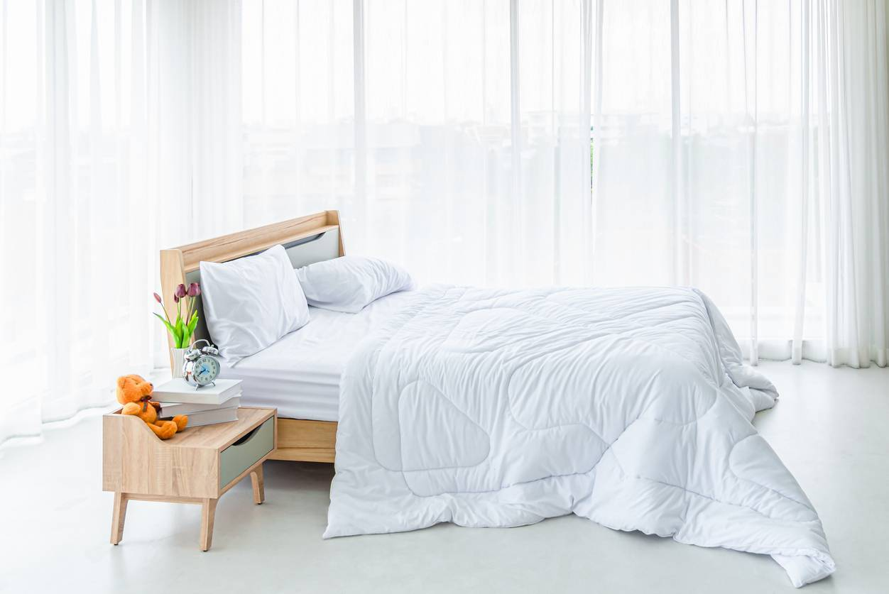 couette choix lit luxe
