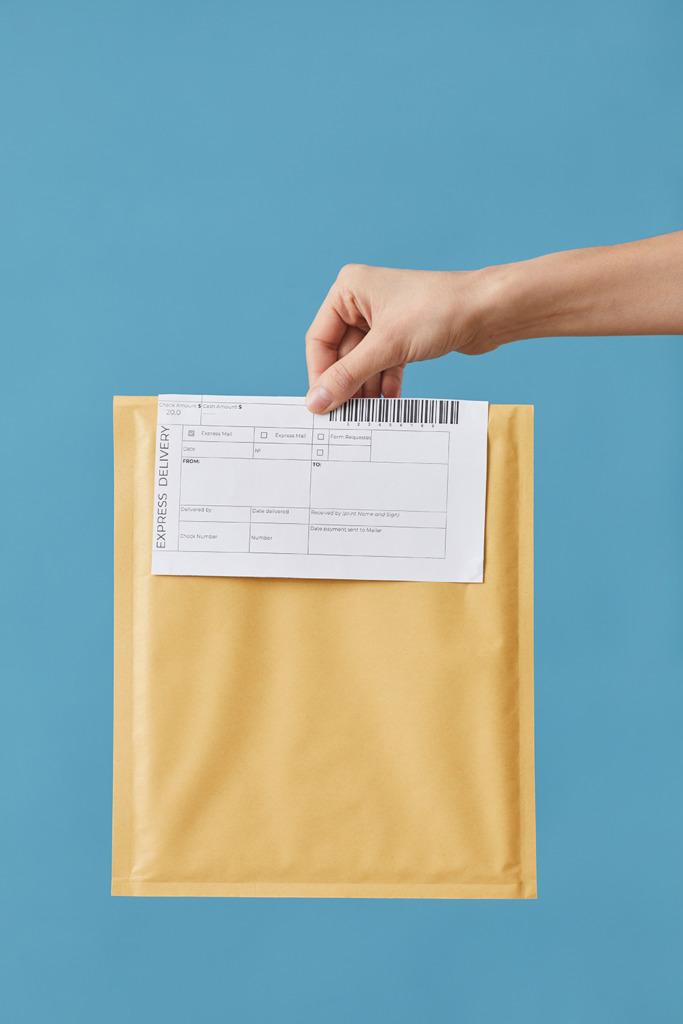 argent par courrier