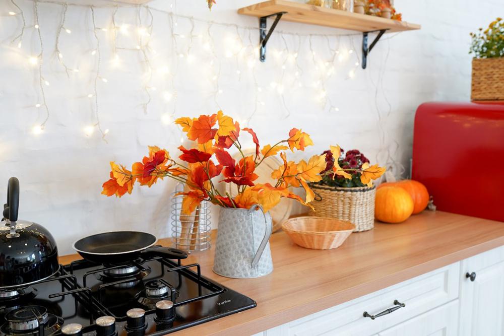 déco couleurs d'automne