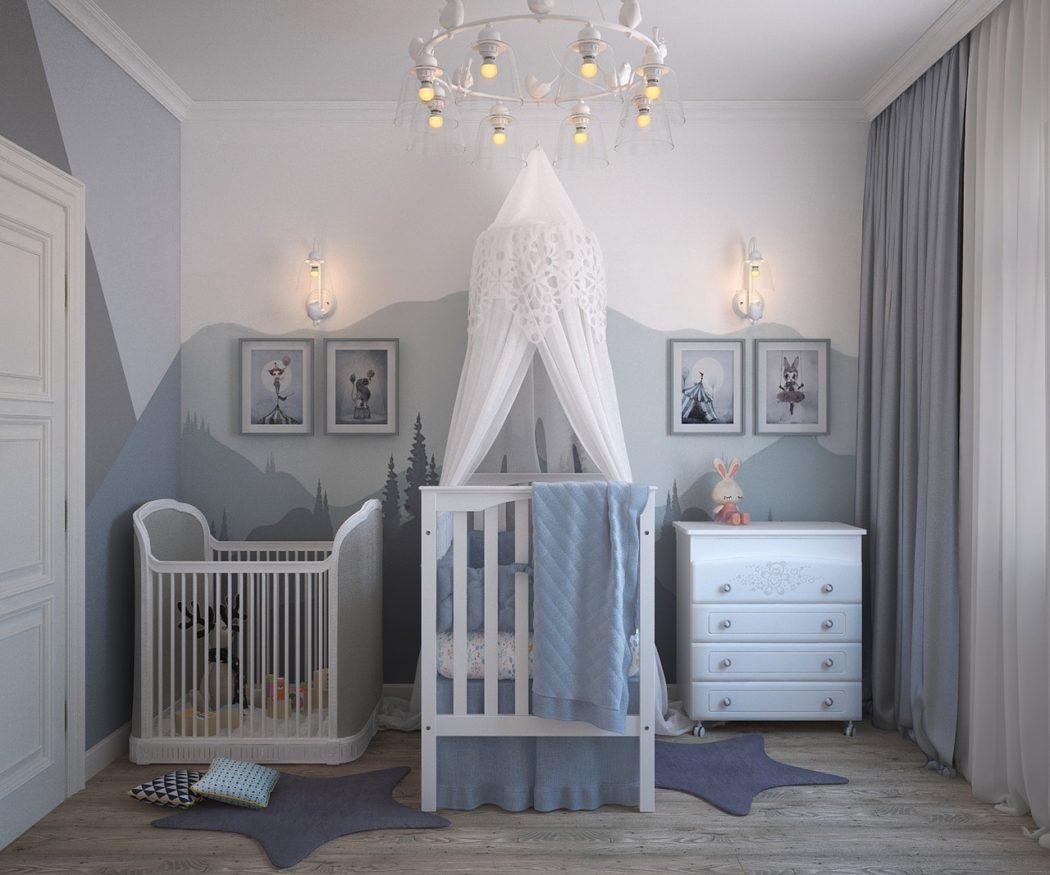 décoration LIGHT pour un bébé