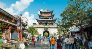 Dali au Yunnan pendant un festival