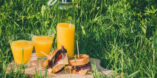 déjeuner au soleil