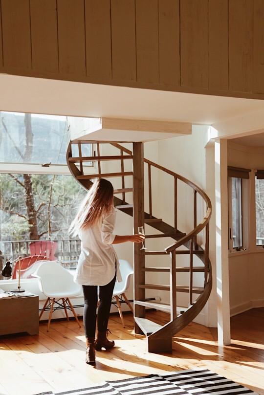 escalier de mezzanine