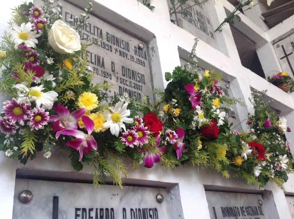fleurs pour la Toussaint