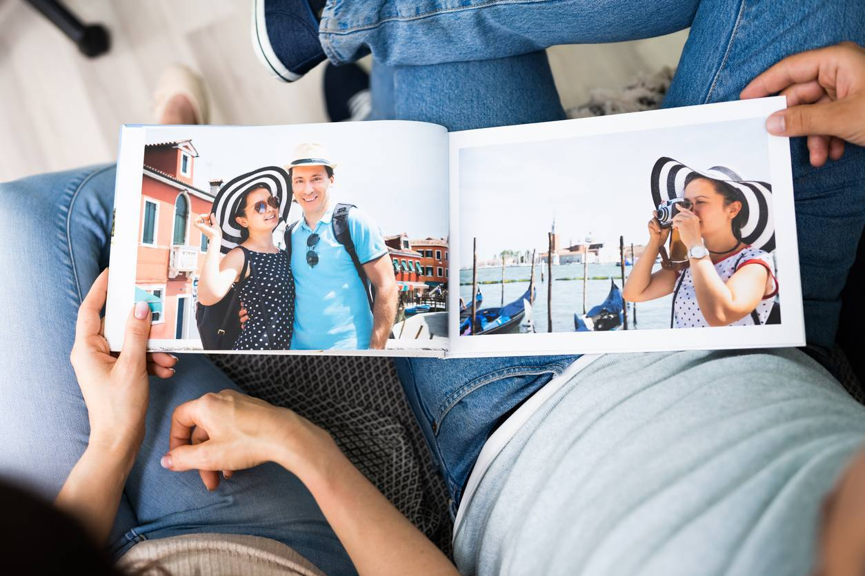 livre photo album photo souvenirs