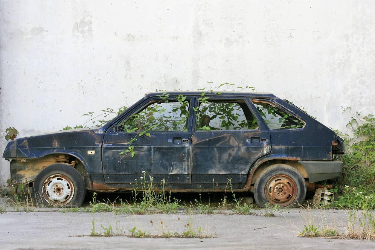 voiture épaviste