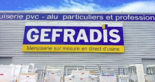 menuiserie PVC Gefradis