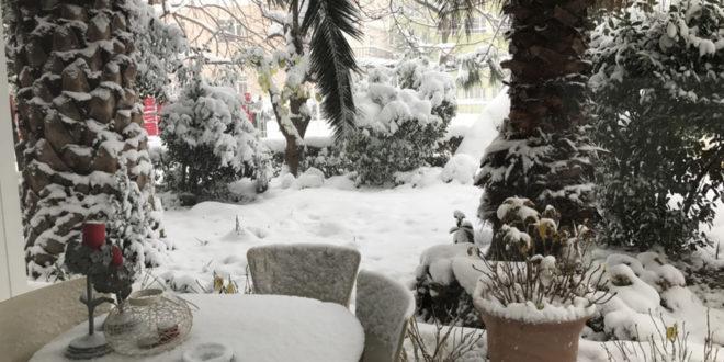 mobilier extérieur hiver