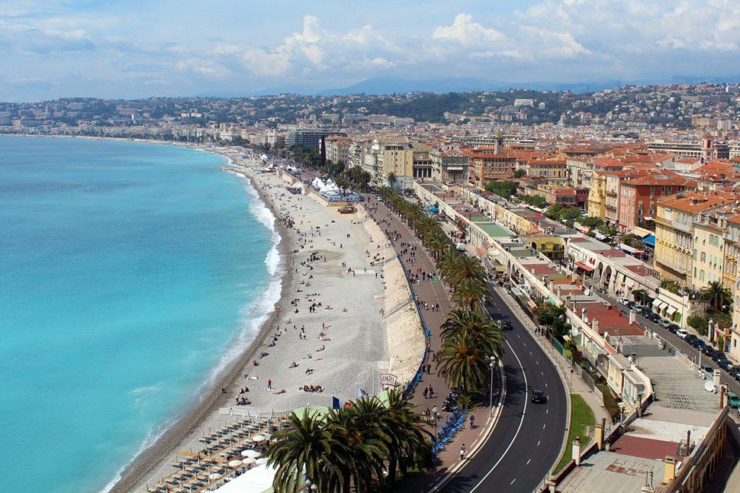 La ville de Nice - french Riviera