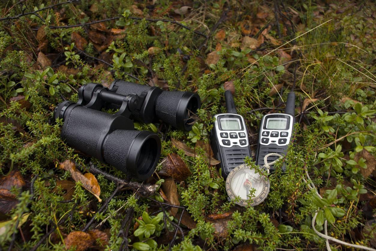 talkie walkie accessoire chasseur