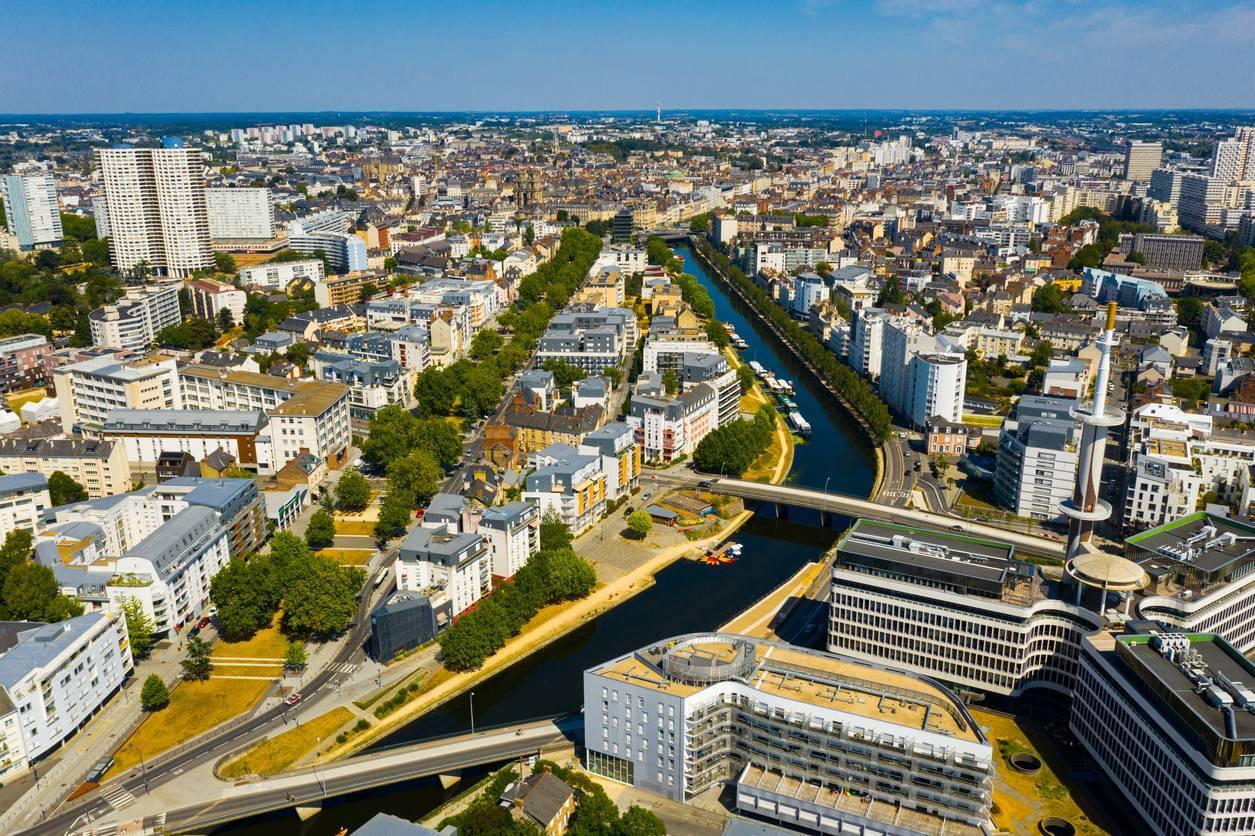 Rennes est élue ville la plus attractive de France.