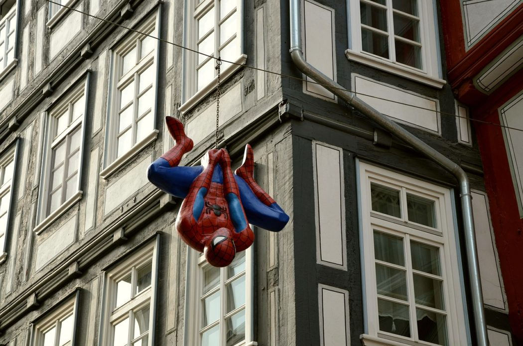 spiderman en action
