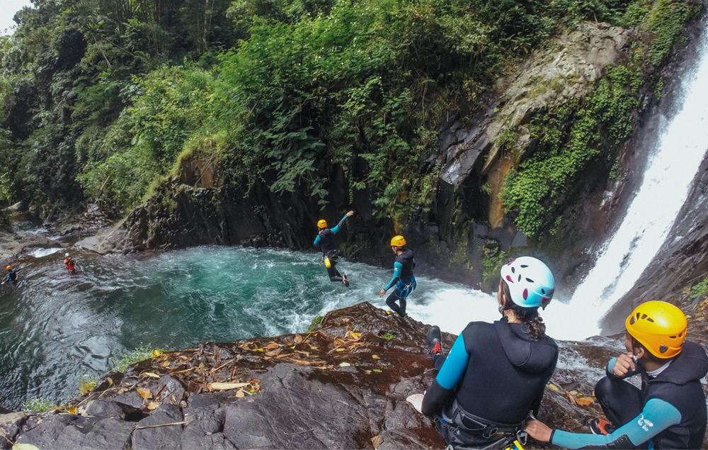 spots canyoning