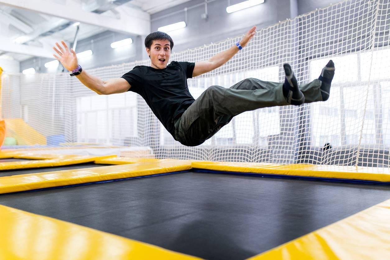 trampoline park chaussettes