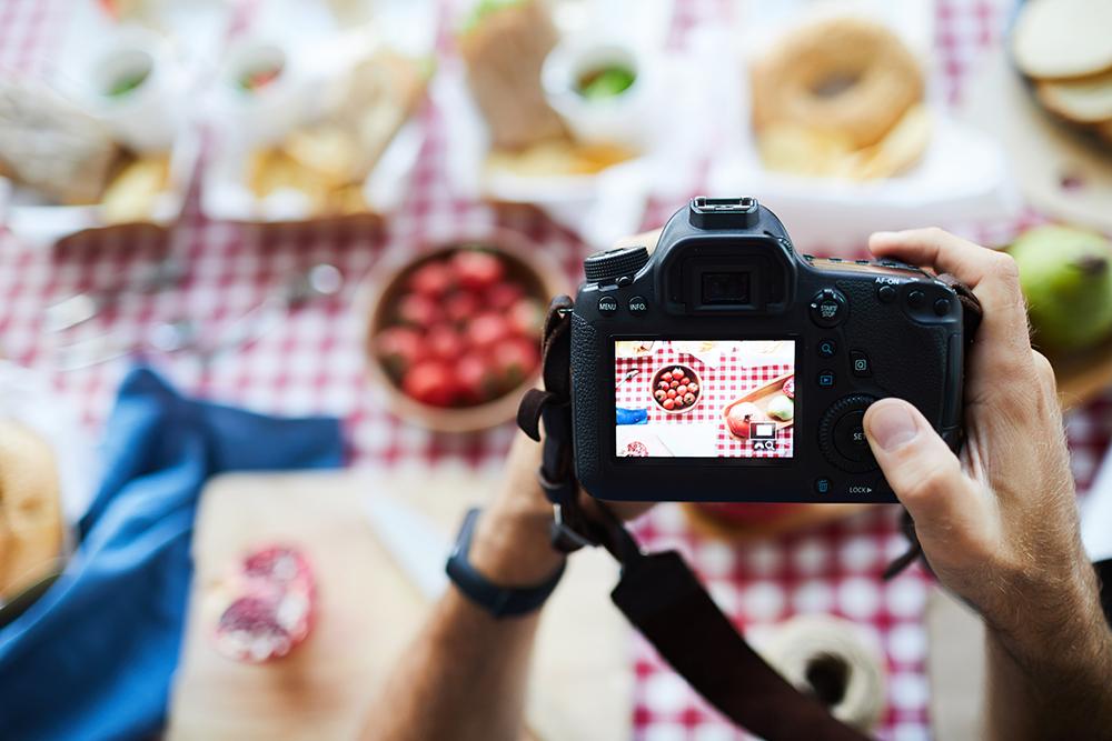 trouver photographe culinaire