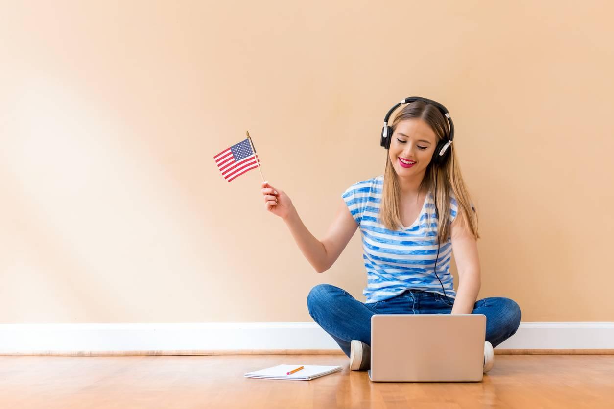 apprendre l'anglais aux USA